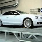 Audi A5 3,2 quattro am Leistungsprüfstand
