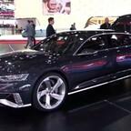 Audi Prologue Avant Fahraufnahme