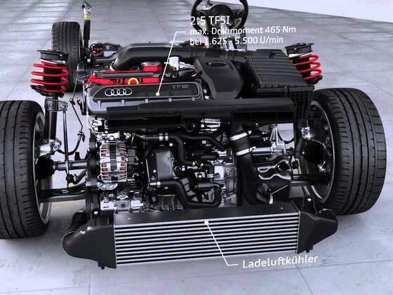 Audi RS 3  Sportback Animation