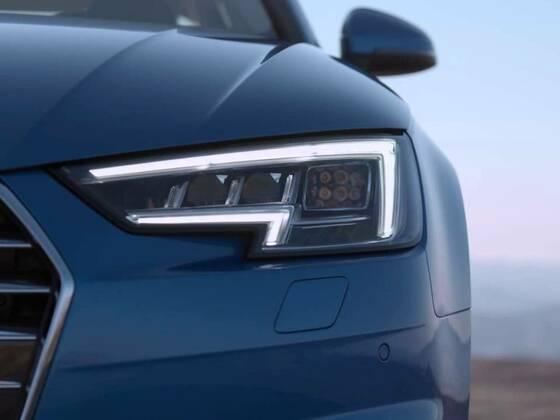 Audi A4 Limousine - Aufnahmen vom Exterieur