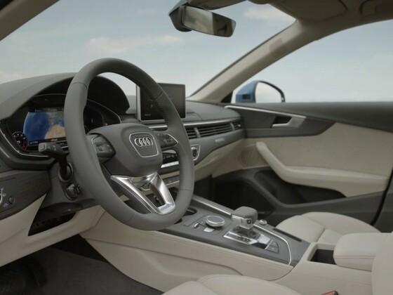 Audi A4 B9 Limousine - Aufnahmen vom Interieur