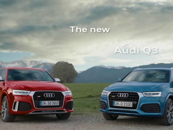 Audi RS Q3 Trailer