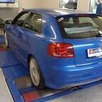 Audi S3 8P - MAHA Prüfstand