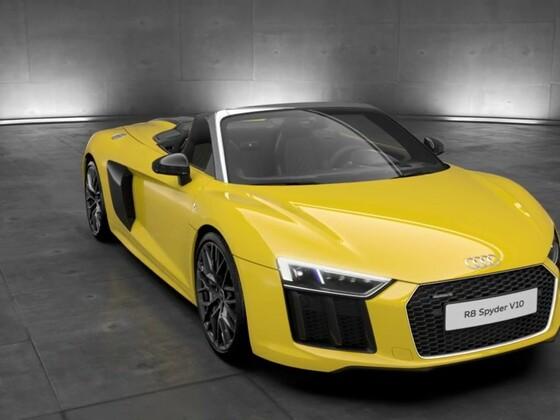 Audi R8 Spyder LED Scheinwerfer
