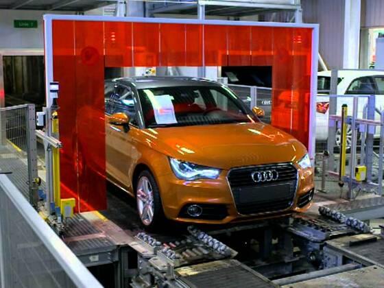 Audi A1 Sportback Produktion in Brüssel