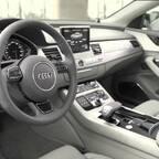 Audi A8L W12 - Aufnahmen vom Interieur und Exterieur