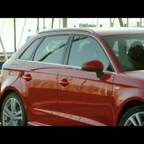 Audi A3 8V Sportback in misanorot - Standaufnahmen und Interieur
