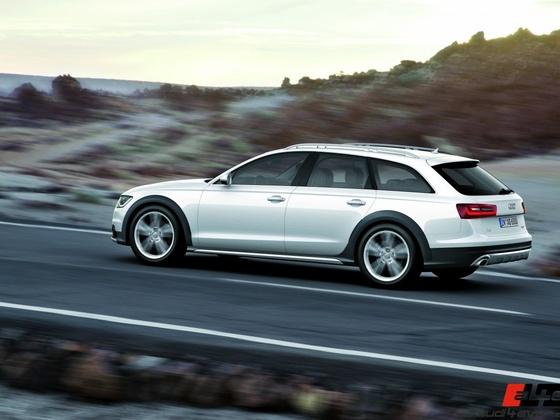 Audi A6 allroad quattro /Fahraufnahme