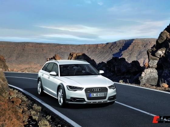 Audi A6 allroad quattro/Standaufnahme