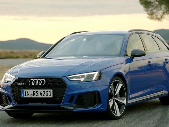 Audi RS4 B9 Avant - Fahrzsenen