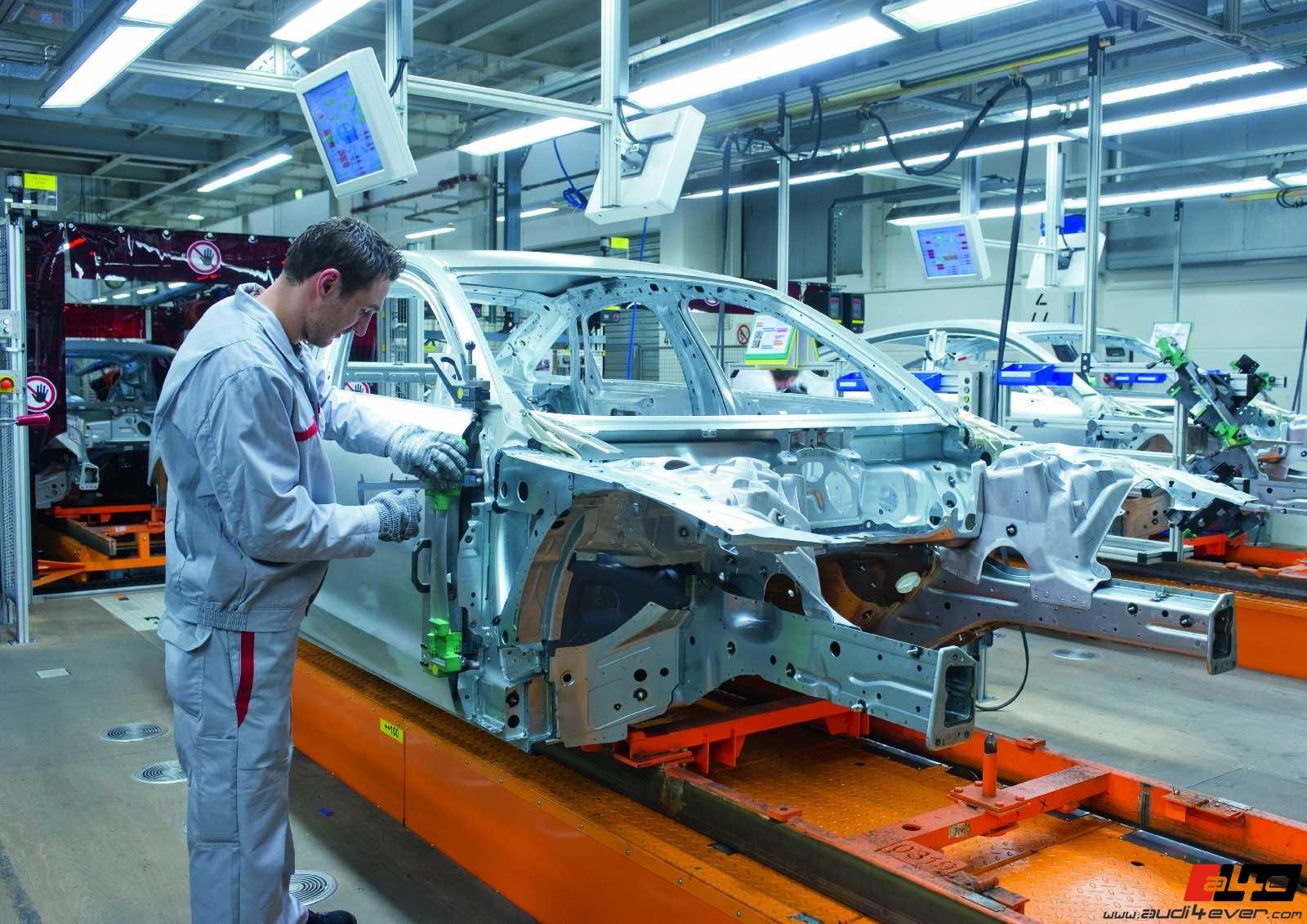 A4e Gallery Audi A6 C7 Audi A6 C7 Produktion