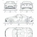 Audi TT RS Roadster/Fahrzeugdaten