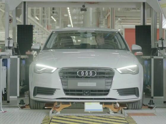 Audi am Standort Györ