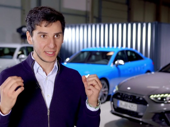 Interview zum neuen Audi A4 2019