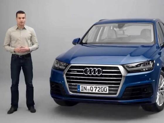 Audi Q7 Leichtbaufilm