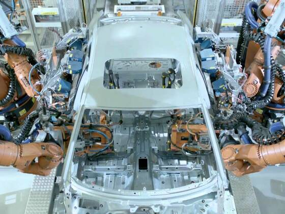 Audi Produktion am Standort Neckarsulm