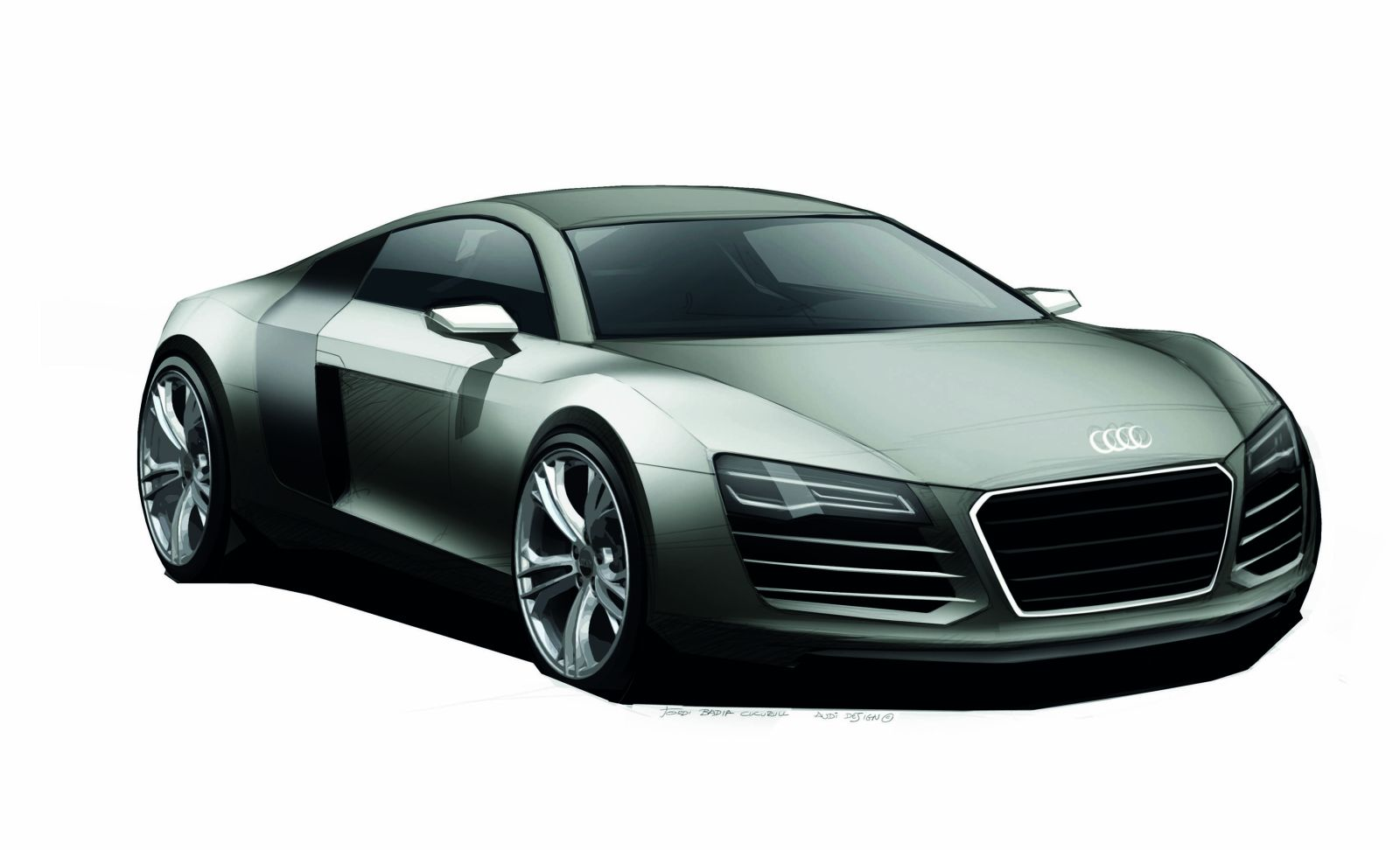 a4e - Gallery Audi R8 (V8, V10, Spyder, GT, GT-Spyder) - Audi R8 Coupe ...
