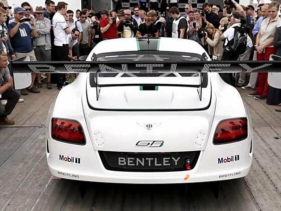 Bentley GT3 in Goodwood