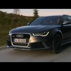 Audi RS6 Avant Fahraufnahmen