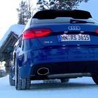Audi RS3 Sportback im Schnee