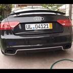 Audi RS5 Soundprobe mit Sportauspuffanlage