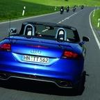 Audi TT RS Roadster/Fahraufnahme