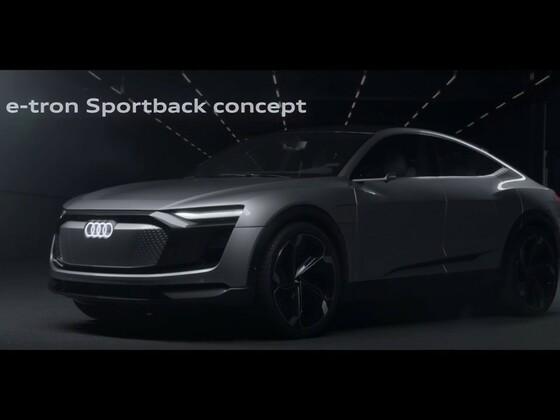 Audi e-tron Concept 2019