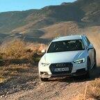 Audi A4 allroad quattro 2016 Fahraufnahmen