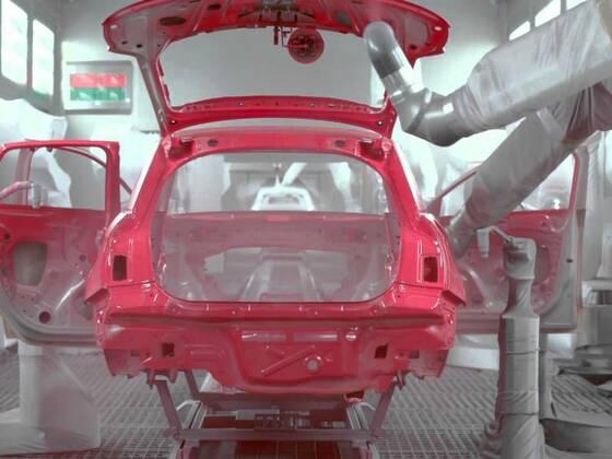 Audi Produktion am Standort Brüssel