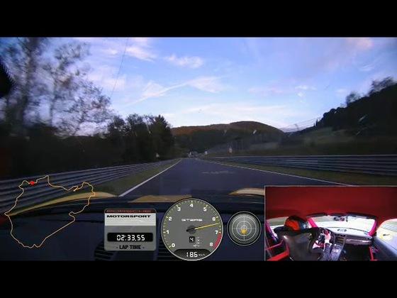 Porsche GT2 RS Rekord auf der Nordschleife