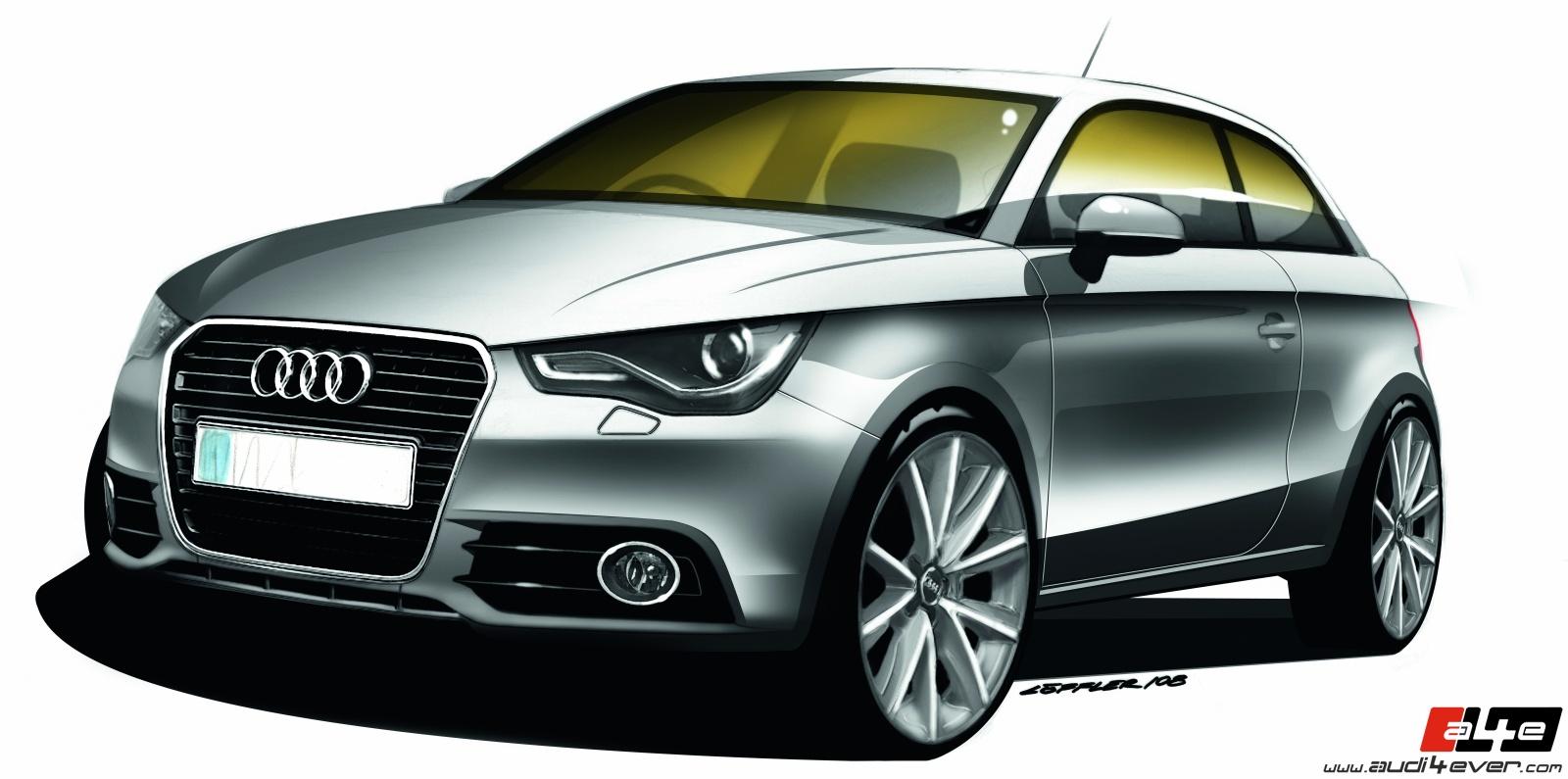 A4e Gallery Audi A1 Audi A1 Techn Zeichnungen