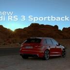 Audi RS 3 Sportback Trailer