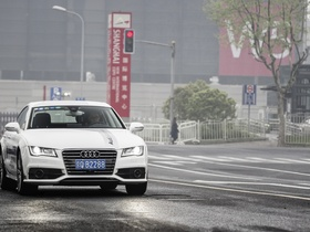 Audi A7 piloted driving Shanghai