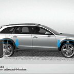 Audi A6 Allroad quattro Animation