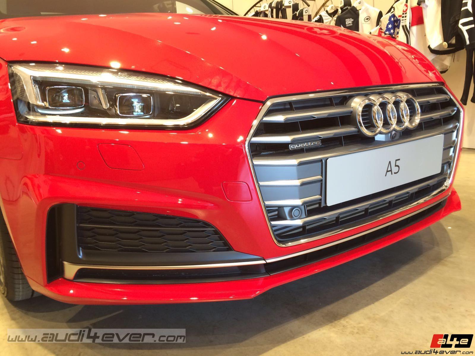 A4e Gallery Audi A5 Audi A5 Live In Wien 2016