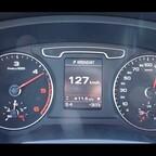 Audi Q3 2,0TDI Beschleunigung 0-130