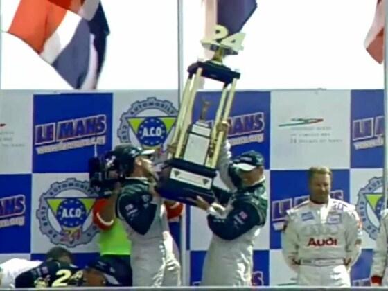 Le Mans Sieg von Bentley 2003