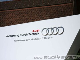 Wörthersee Tour 2014 - Audi Stand