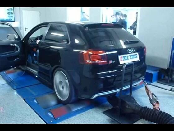 Audi S3 8P FL auf dem Prüfstand