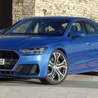 Fahr- und Detailaufnahmen Audi A7 Sportback 2017
