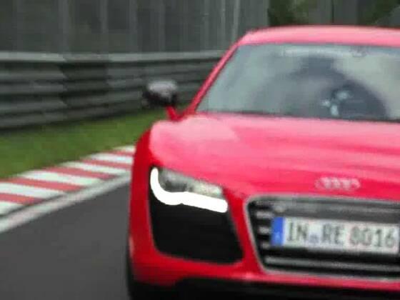 Audi R8 e-tron Nürburgring Rekordfahrt