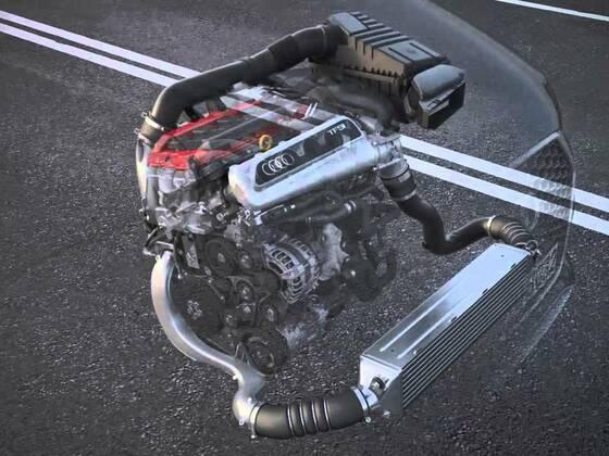 Audi RS Q3 2,5 TFSI Animation
