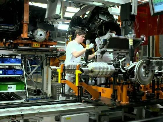Audi Q5 hybrid Produktion in Ingolstadt