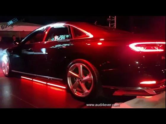 Audi A8 Markteinführung 2017