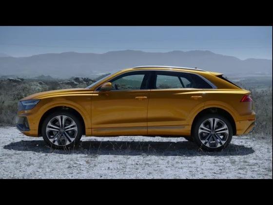 Audi Q8 Trailer