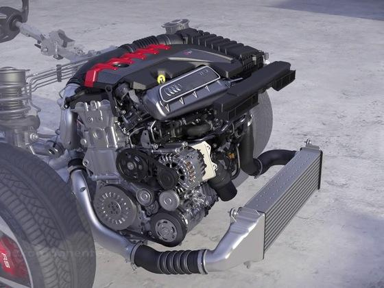 Audi TT RS Antriebstechnik
