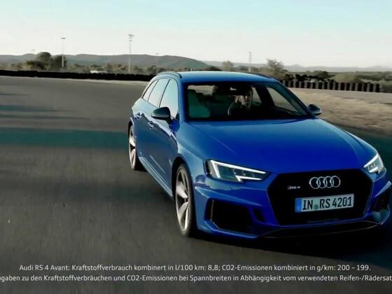 Audi RS4 Avant B9 Trailer