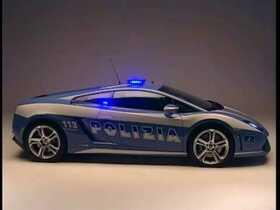 Lamborgini der italienischen Polizei