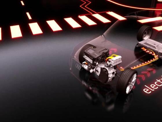 Audi future lab e-tron experience