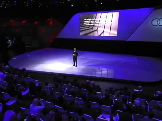 Audi Pressekonferenz auf der NAIAS in Detroit